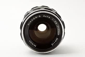 Nikon Nikkor-S 35mm f/2.8 Non Ai Nippon Kokagu Manual Focus Lens