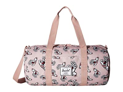 Herschel Supply Co. Sutton Mid-Volume (Pale Mauve Screaming Hand) Duffel Bags