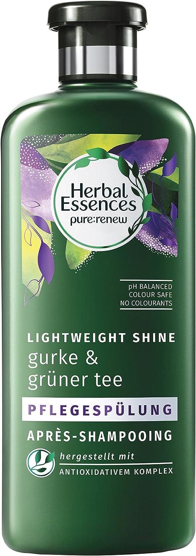 Herbal Essences - Acondicionador de pepino y té verde, 400 ml