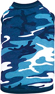 ColdWoof Pet Thermal, Small, Navy Camouflage