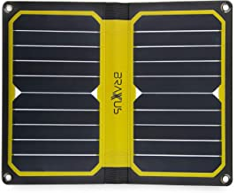 Braxus Solar Panel Charger, 10.6W Solar portable charger. Our Ultralight 10oz solar panels are built with Sunpower Flexible solar panels and USB output. This solar phone charger is perfect for hikers.