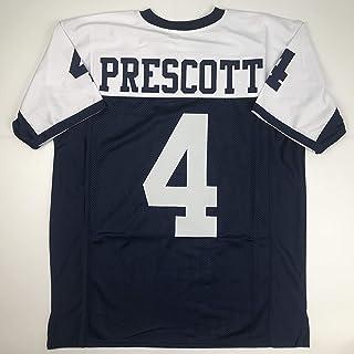 c2ddca337 Unsigned Dak Prescott Dallas Thanksgiving Day Custom Stitched Football  Jersey Size XL New No Brands/