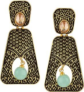 gold dangle earrings india