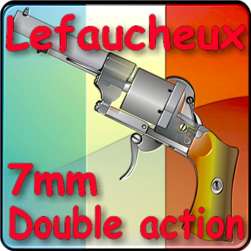 Le revolver Lefaucheux double action 7mm à broche
