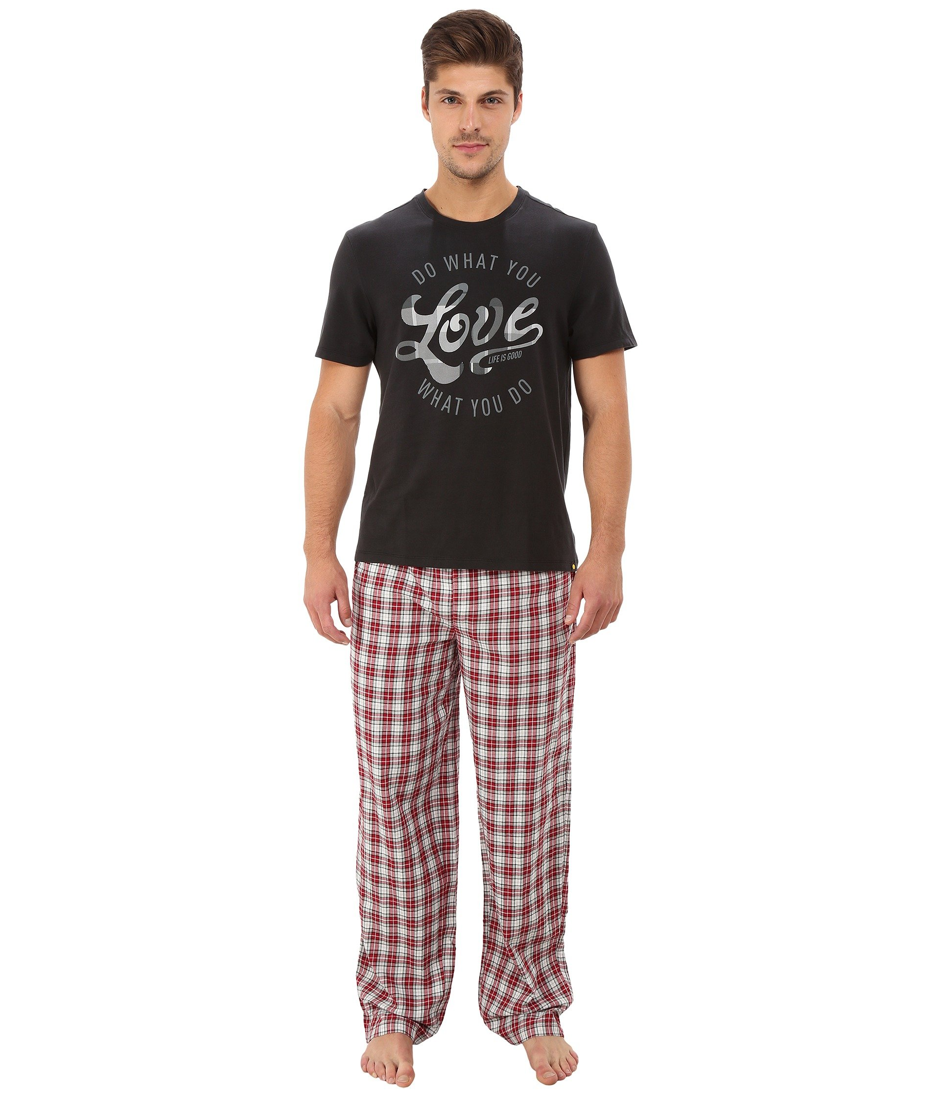Pijama para Hombre Life is Good Holiday Sleep Set  + Life is Good en VeoyCompro.net