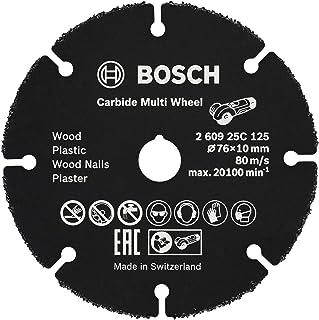 Bosch Professional 260925C125 Tungsten Carbide Multi Wheel Cutting Disc (for Wood, Plastic, plasterboard, Copper Pipe, Ø 7...