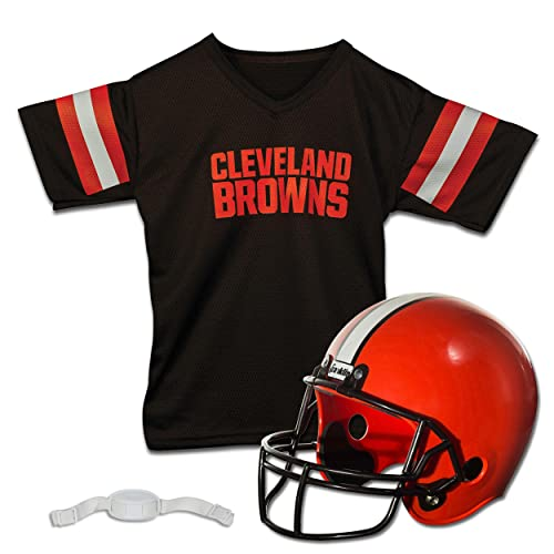 CLEVELAND BROWNS 3 PIECE PAJAMA SET YOUTH SIZE LARGE 14-16