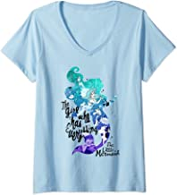 Womens Disney The Little Mermaid Ariel The Girl Who Has Everything V-Neck T-Shirt