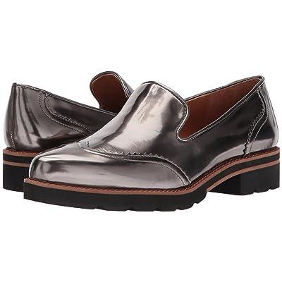 Franco Sarto Betsy (Gunmetal Liquid Metallic PU) High Heels