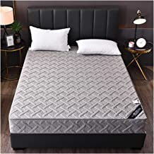 Quilted Mattress Protector Topper Cover Zippered Bed Cover Washable Skin Friendly Easy Care Sweat Absorption Polyester (Co...