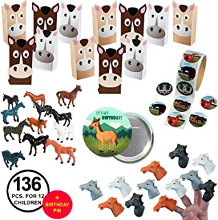 horse themed birthday party favors