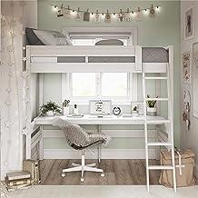Amazon Com Bunk Bed With Desk