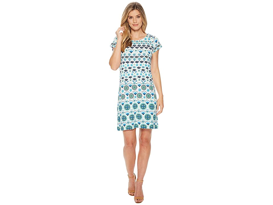 Hatley Nellie Dress (Aqua Sarchi) Women
