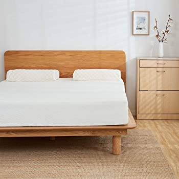 HOFISH 6 Inches Memory Foam Mattress-Ideal Support & Right Cushion-Back to School Mattress-Firm Feel,Twin Size
