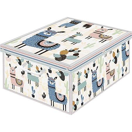 Kanguru Boîte en carton, Lama, 50 x 39 x 24 cm