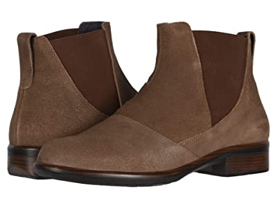 Naot Ruzgar (Antique Brown Suede) Women