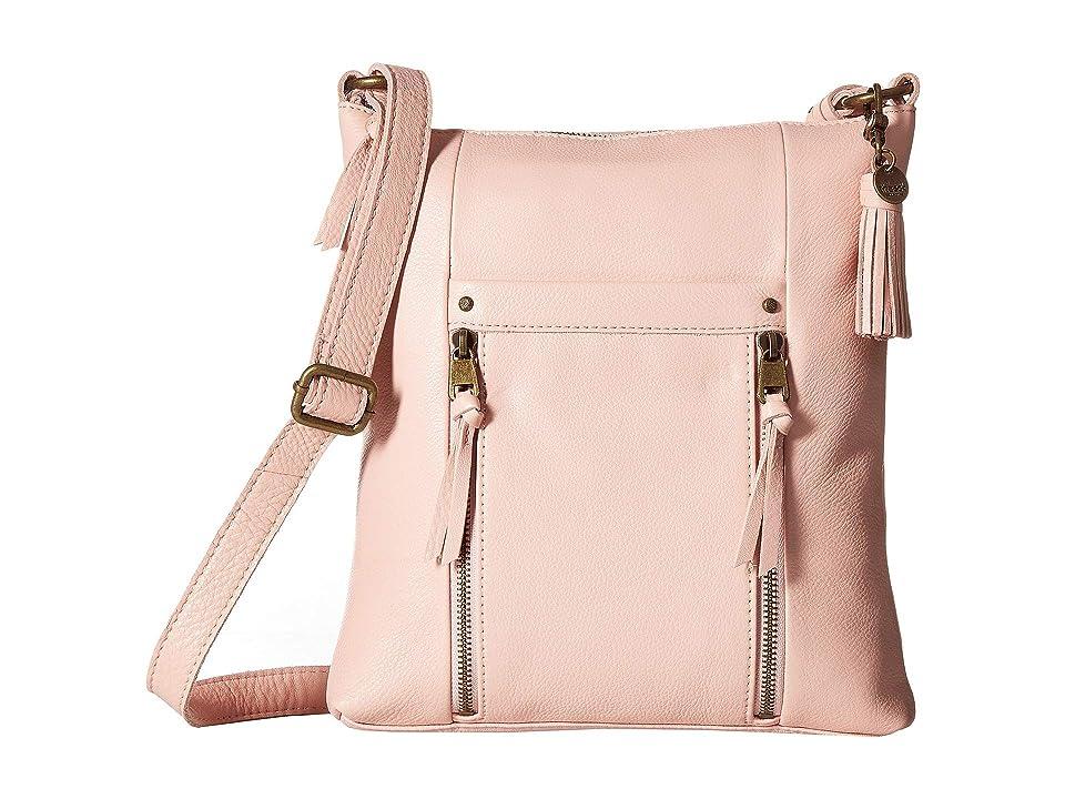 The Sak Ladera Crossbody by The Sak Collective (Petal Pink) Cross Body Handbags