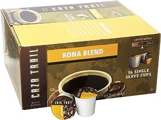 Caza Trail Coffee, Kona Blend, 56 Single Serve Cups