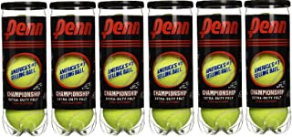 Penn High Altitude Tennis Balls Championship – Yellow - USTA & ITF Approved - Official Ball of The United States Tennis Association Leagues - Natural Rubber for consistent Play