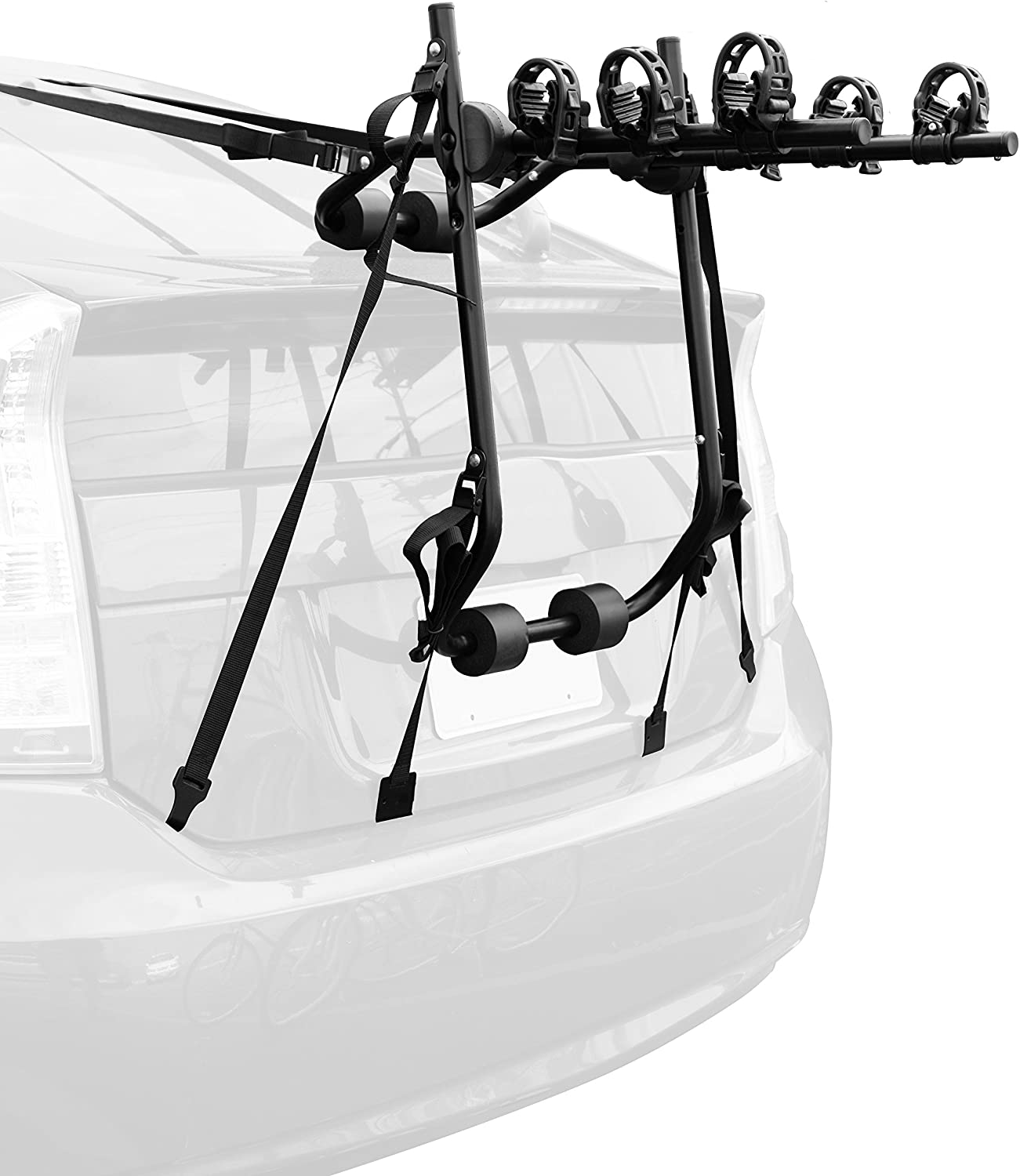 Critical Cycles Maddox Trunk Mount Bike Rack; 3 Bike