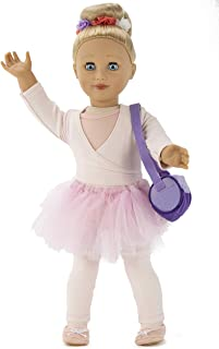 Playtime By Eimmie 18 Inch Doll for Girls - 18 Inch Doll Capezio Ballerina Doll, with Ballet Doll Clothing and Dance Bag D...