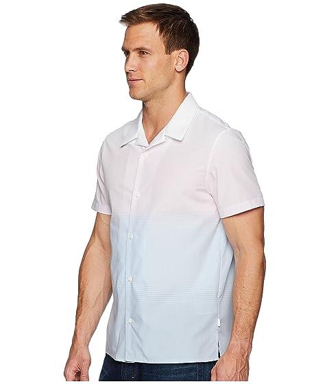 Camisa de Calvin Ombre felpa Klein rosa corta Camp manga rIZwZxq