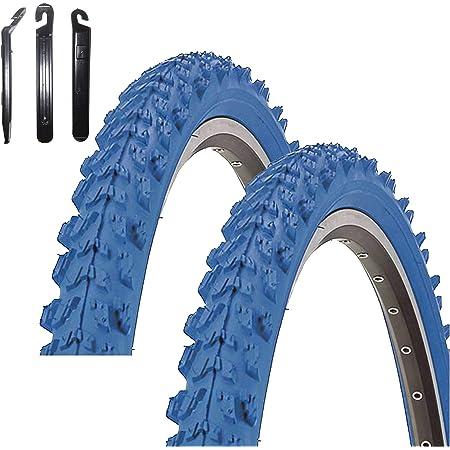 "24 x 1.95 Kenda K-829 Psycho 24/"" MTB Bicycle Tyre Bike Coat Green 50-507"