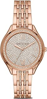 Women's Mindy Three-Hand Rose Gold-Tone Alloy Watch MK7085