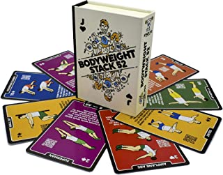 Exercise Cards: Strength Stack 52 Bodyweight Workout Playing Card Game. Designed by a Military Fitness Expert. Video Instr...