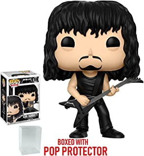 Bundled with Pop Box Protector Case Rocks James Hetfield #57 Vinyl Figure Metallica Funko Pop