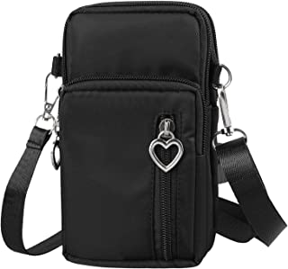 EEEKit Mini Cross-Body Cell Phone Bag Shoulder Strap Wallet Pouch Bag Purse - for Most Smartphones up to 6.5 inch