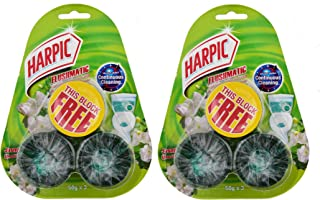 HARPIC In-Cistern Toilet Cleaner - Jasmine, Pack of 2 x 3 x 50g