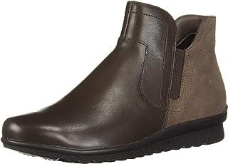 Aravon Women's Josie Bootie Ankle Boot, Brown, 11 M US