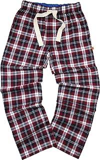 Mens 100% Cotton Check Designer Pyjamas Bottoms Lounge Pants Trousers