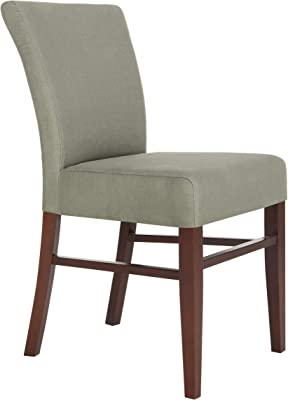Safavieh Mercer Collection Dwight Linen Side Chairs, Green, Set of 2