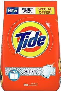 Tide Powder Laundry Detergent, Original Scent, 6 kg