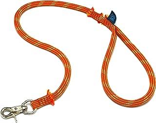 ドッグ・ギア ザイルリード タイプS ロープ径10mm 全長120cm オレンジ 「愛犬とのコミュニケーションを楽しむためのリードです」