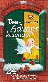 Sonnentor Tee-Adventkalender Edition 2015-2017 bio, Aufgussbeutel 24 Stck, 1er Pack 1 x 38 g