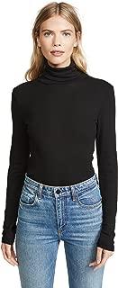 Splendid Women's Long Sleeve Turtleneck Top,