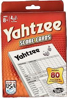 Yahtzee 80 Score Cards