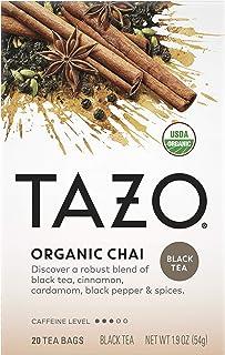 Tazo Organic Chai Black Tea Filterbags (20 count)