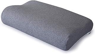 テンピュール(Tempur) 枕カバー グレー オリジナルネックピロー・ミレニアムネックピロー XS~L用 スムースピローケース 73006424