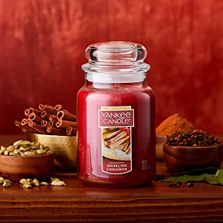 Yankee Candle Large Jar Candle Sparkling Cinnamon