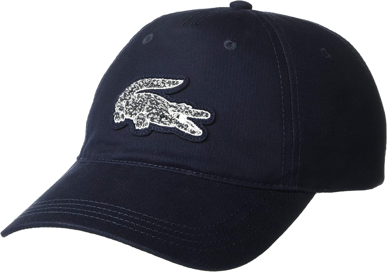 Lacoste Men's Herringbone Big Croc Hat