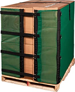 Reusable Heavy Duty Eco Green Pallet Cover Wrap 55 INCH Alternative to Shrink Wrap