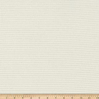 Telio Splendid Rib Novelty Sweater Knit Ivory Fabric by the Yard