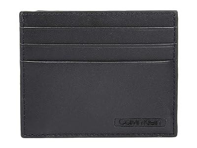 Calvin Klein Front Pocket Wallet (Black) Bi-fold Wallet