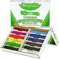 240-Count 12 Colors Crayola Watercolor Colored Pencil Classpack