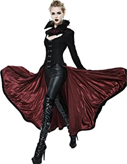 Devil Fashion Black Gothic Dark Vampire Queen Style Jacket Coat for Women