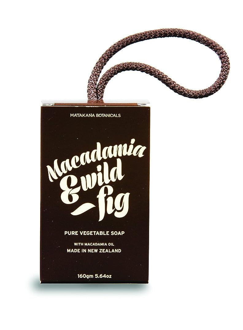懲らしめ頭痛厚くするMB(マタカナボタニカルズ) マカダミア&ワイルドフィグ ピュアベジタブルソープ